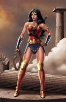 WONDER WOMAN Color version by DAVID-OCAMPO