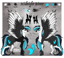 Midnight River Refrence by SpicyBrownieMix