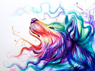 Color Wolf by Lucky978