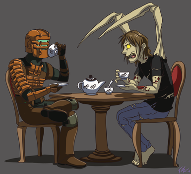Dead Space: Tea Party by forte-girl7