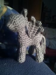 Derpy Hooves crochet: Now with wings! by terriko