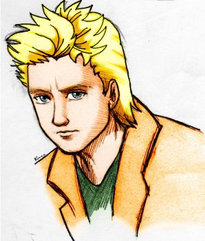 Roger Taylor caricature def by DrawnByYou