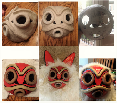 Mononoke Mask by TheRadCrafter