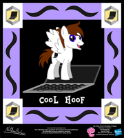 Cool Hoof OC Collectible Card by StryKariSPEEDER