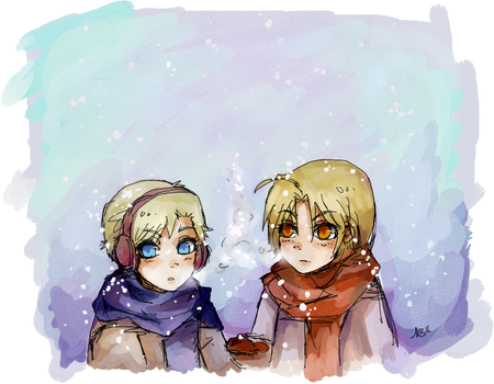 Winter by aryllins