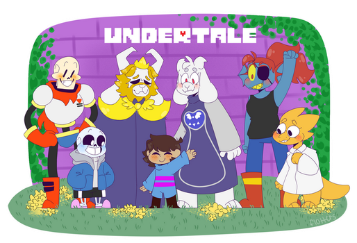 2 years and i'm still in undertale hell by fl0tters