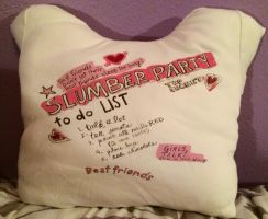 Sleepover Pillow by SisterStories
