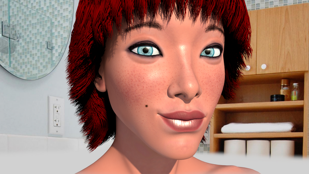 Head texturing homework by yecgaa
