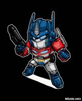 Superdeformers: Optimus Prime by MZ15