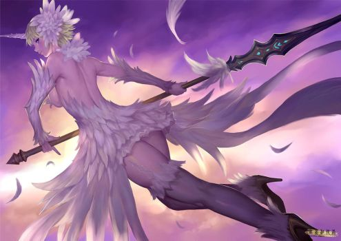 White Feather by ariverkao
