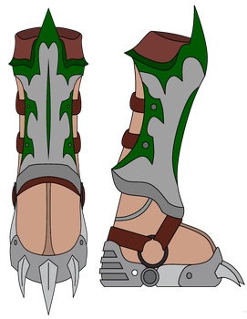 AppleFallsPonies Commission: Lands Wrath Boots by NeonBlacklightTH