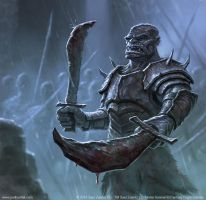 Angmar Captain by joelhustak