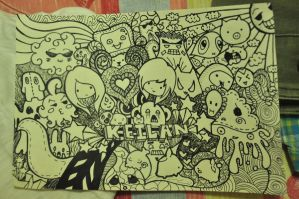 1st ever doodle..my love by akosikeith