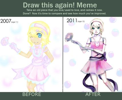 Meme: Before and After by ThePinkSparkles