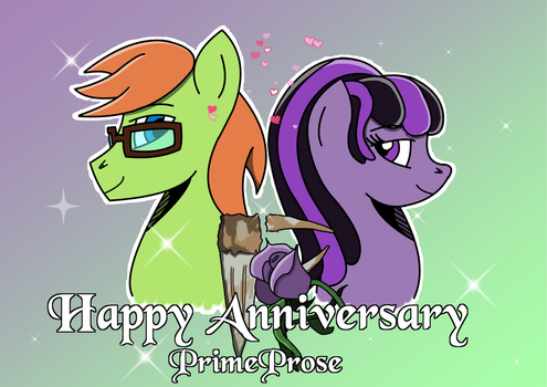PrimeProse 1st year Anniversary gift by DBurch01