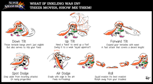 TBT: Inkling SPLATS her moves PART 3 by NkoGnZ