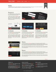 THISandTHAT Website Template by ahmadhania