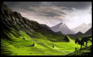 Through The Land by AlectorFencer