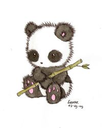 little panda by Liedeke