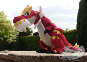 Tyrantrum by FeatherStitched