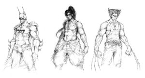 Daily sketches by muju