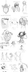 Musical Sketchdump by wandering-ronin
