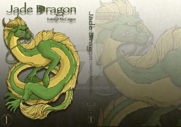 Jade Dragon Final Cover by kmccaigue