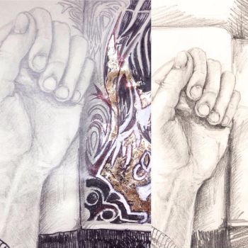 Hand drawings  by Framagirl