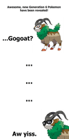 My First Reaction to Gogoat