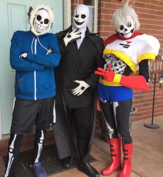 Undertale Team Cosplay by BTWimamermaidd