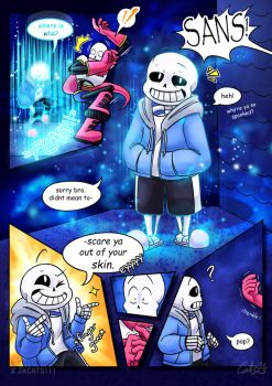 .: SwapOut : UT Comic [3-4] :. by ZKCats