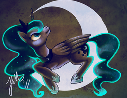Princess Luna by Jabbym