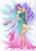 Colorful Faerie  by ArunaWolf