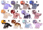 [OPEN] $2 adopts! by Lckii