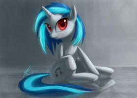 Vinyl Scratch by Montano-Fausto