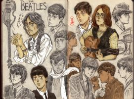 the beatles by EspadaNO06