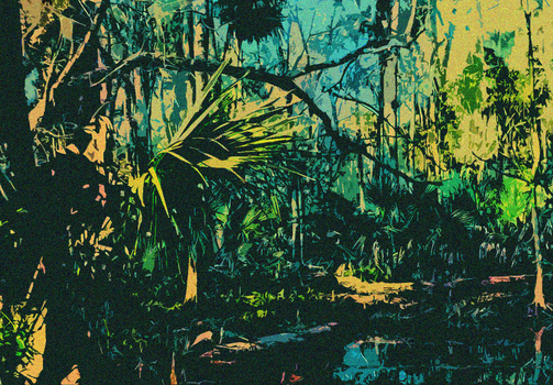 Swamp Jungle by 8bitDerp