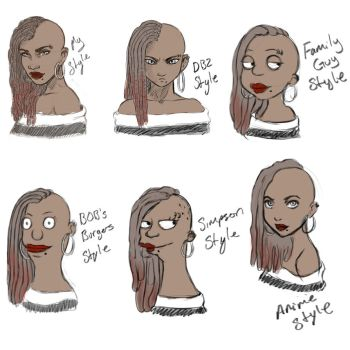 Style Challenge by KiraTheArtist