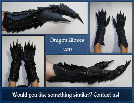 Dragon Gloves by SagandeTeam