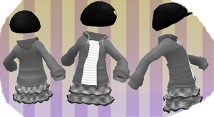 MMD Outfit 15 by MMD3DCGParts