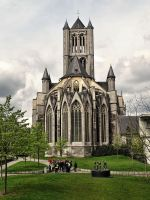 St. Bavo Cathedral - Ghent - Belgium by UdoChristmann