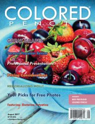 COLORED PENCIL Magazine - August 2017 Issue by ColoredPencilMag