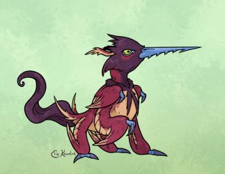 Kafit Bird by Monster-Man-08