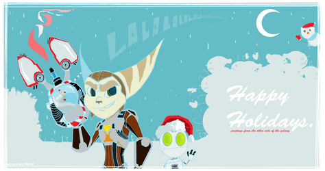 Holiday Greetings from Outer Space by Flighto