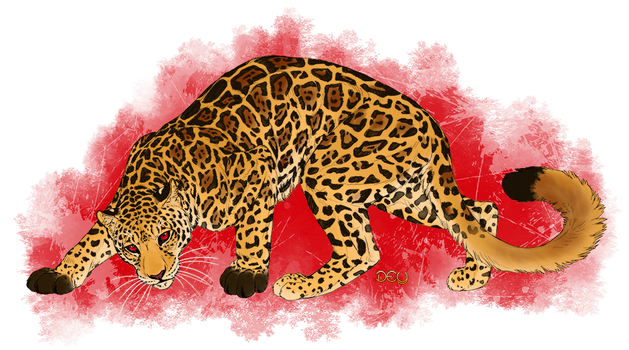 Commission - Red Eyed Jaguar by DeyVarah