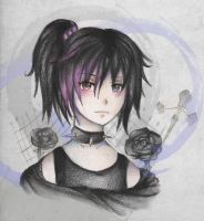 Roses are Black by Tajii-chan