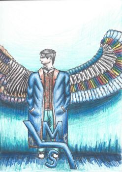 Myself (with wings) by MSwope