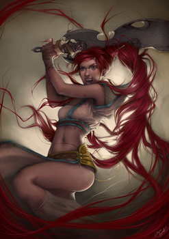 .: Heavenly Sword :. by Charlie-Bowater