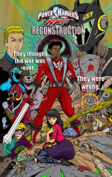 Power Rangers RPM - RECONSTRUCTION Colored by BrandonBlanks