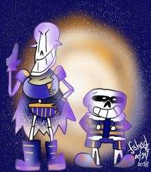 OuterPants - Skele-Bros (SrPelo Style) by Fahad-Lami